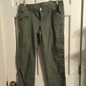 Sonoma Ladies Olive Green Pants